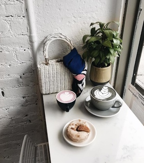 donuts, awesome and coffee