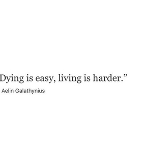 Easy, quote and life