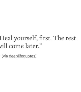 heal yourself, love yourself and Relationship