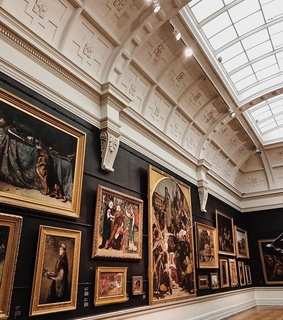 paintings, art and museum