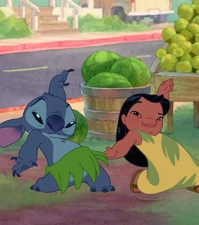 dancing, lilo and stitch and dance