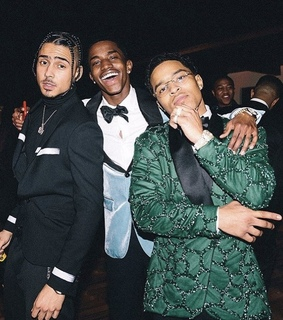 quincy combs, christian combs and suit