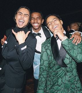 quincy combs, christian combs and smile