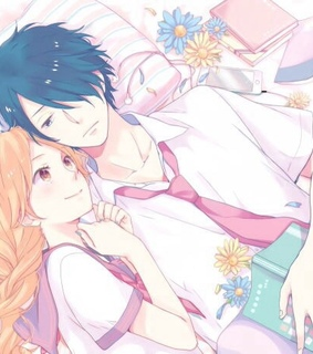 couple, manga girl and nijiiro days