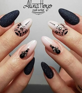 design, manicure and nails