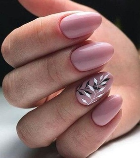 nails, manicure and pink