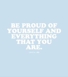 yourself, be yourself and selflove