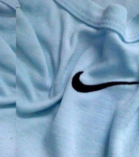 blue nike, nike and soft blue
