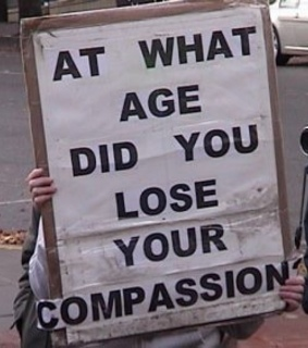 compassion, transparent and text