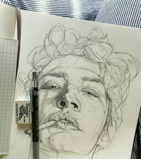 stationary, earaser and drawing