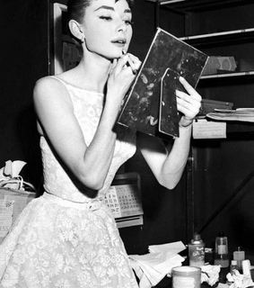 dress, fashion and audrey hepburn