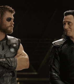 Avengers, header and loki and thor