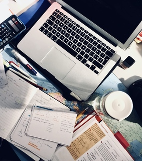 studying, notes and college