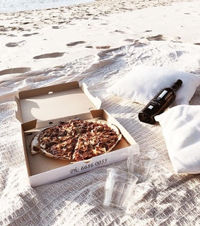 pizza, wine and date ideas