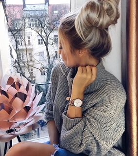 window, bun and tumblr
