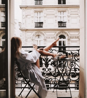 chill, girl and paris
