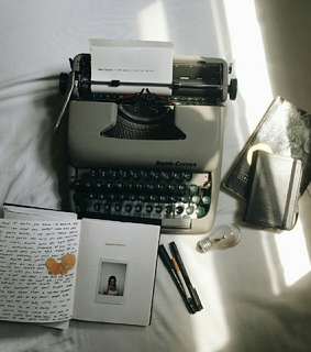 vintage, retro and bullet journal