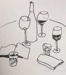 soft, wine and drink
