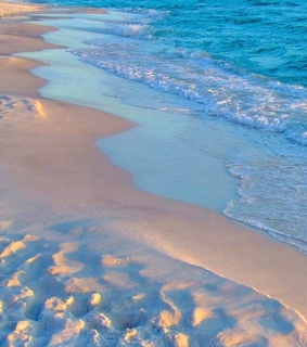 waves, sand and summer