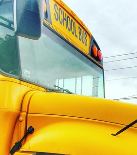 bus, school and yellow