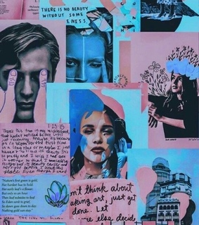 journal, Collage and art