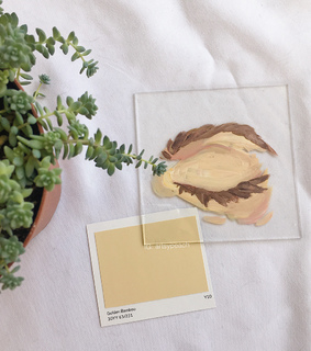 plant, beige and milky