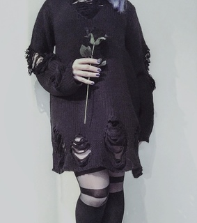 rose, gothic and goth