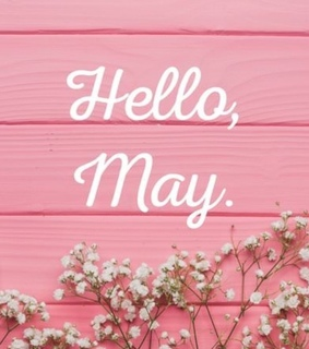 welcome, pink and hello may