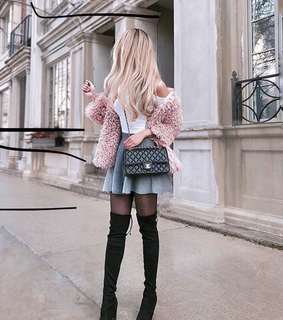 cute, purse and style