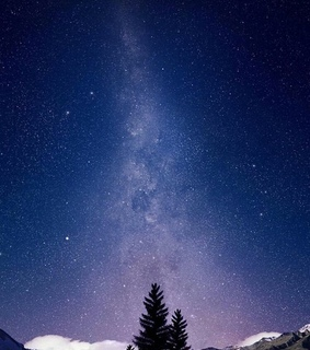stellar, nature and milky way