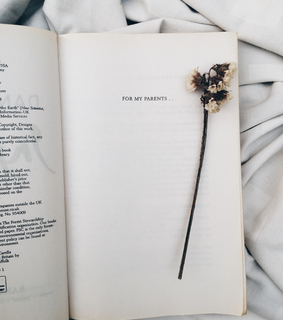 book, books and flower