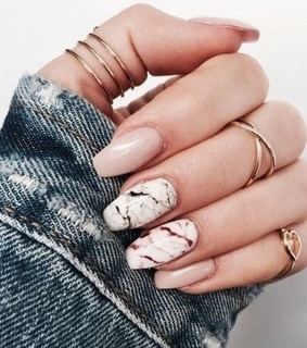 nails, glamour and jeans