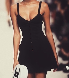 vintage, dress and chanel