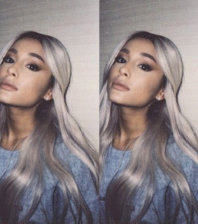 singer, blond and ariana grande