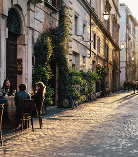 cafe, city and architecture