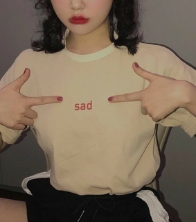 sad, mode and aesthetic