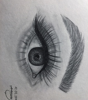 art, eye and drawing
