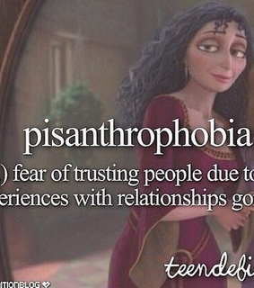 pisanthrophobia, special and people