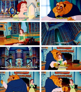 library, film and disney