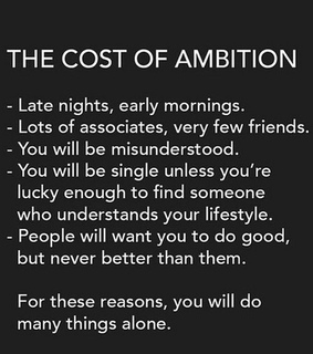 female empowerment, wake up early and ambition