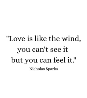 black and white, love and nicholas sparks