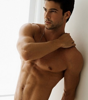 Hottie, muscles and male model