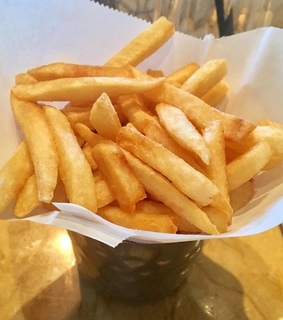 chips, dinner and food