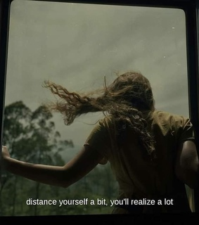 alone, distance and girl