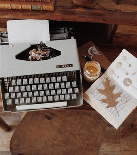 candle, vintage and autumn