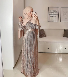 party dress, hijabista and stylé