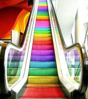 colores, stairs and coloruful
