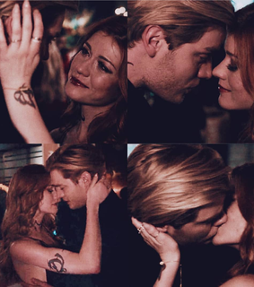 shadowhunters, clace and dominic sherwood