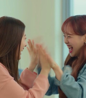 chuu, fromis 9 and fromis lq