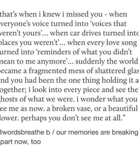 quote, reminders and missing you